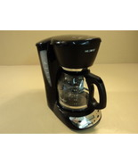 Mr Coffee Sunbeam 12 Cup Programmable Coffee Maker Black/Silver CHX23 - $20.50