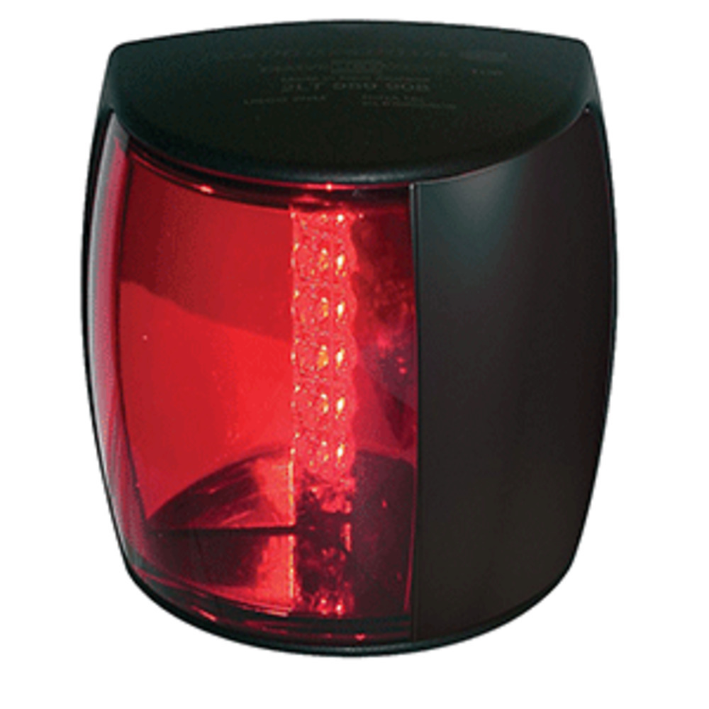 Primary image for Hella Marine NaviLED PRO Port Navigation Lamp - 3nm - Red Lens/Black Housing