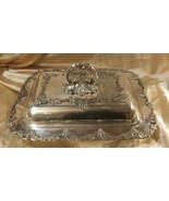 Vintage Haddon Plate Sheffield Reproduction 1900-1940 Silverplate Grape-... - $39.59