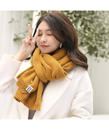 Cashmere Scarves Women Autumn Winter Doublesided Embroidery Pineapple Wr... - $19.59
