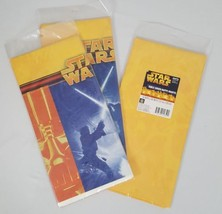 3 Packs Star Wars Hallmark Party Express Table Cover 54x102 Jedi Light S... - $24.99
