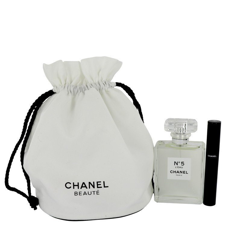 Chanel no.5 l eau perfume pouch gift set