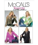 McCall's 4968 Sewing Pattern Misses Tunics in Three Lengths Size Y (Xsm ... - $4.70