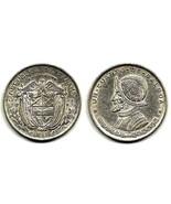 Panama, 1/4 de Balboa, 1961, 24.3 mm, 0.9000 Silver, 0.1797 oz ASW, Km# 25 - $10.00