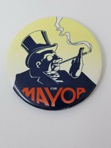 Vintage 1992 Batman Returns The Penguin For Mayor Movie Button Pin - $9.85