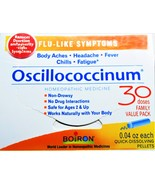 Oscillococcinum // HomeOpathic Medicine // Family Value Pack (30) Doses - $21.50