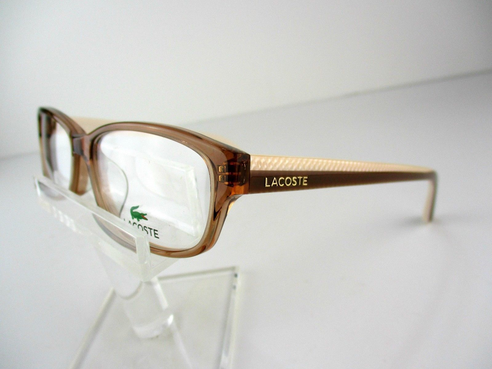 186026e91f NEW Lacoste L-2695A (234) Crystal Brown 54 X 16 140 mm Eyeglass