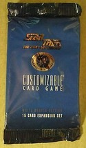 Star Trek Next Generation White Border Edition Customizable 15 Card Expa... - $3.95
