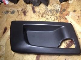 03-09 Cadillac Srx Cts Right Hand Rear Drivers Side Door Handle Bezel Oem Black - $17.30