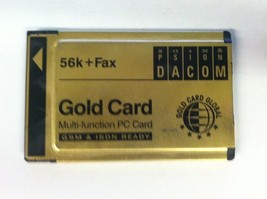 Psion S99-2318-2 Gold Card Global 56K + Fax PCMCIA Multi-Function Card No Cable - $10.00