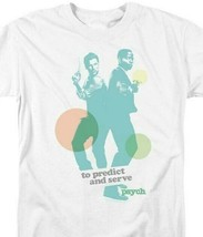 To Predict & Serve t-shirt Psych TV series Shawn & Gus graphic tee NBC592 image 2