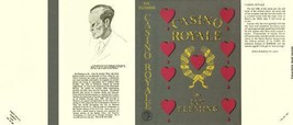 Fleming-facsimile jacket for 1st UK ed. of Casino Royale (no book included) - $21.56