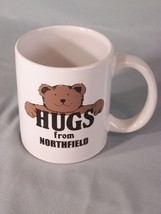 "Hugs From Northfield coffee cup approx 3.75"" tall - $5.10"
