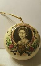 Wonderful Queen Elizabeth II Silver Jubilee Ceramic Pomander, 1952 - 197... - £13.30 GBP