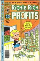 Richie Rich Profits Comic Book #38 Harvey Comics 1980 FINE- - $2.99