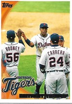 Baseball Card- Detroit Tigers 2010 Topps #201 - $1.25