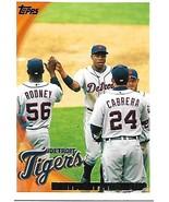Baseball Card- Detroit Tigers 2010 Topps #201 - $1.25