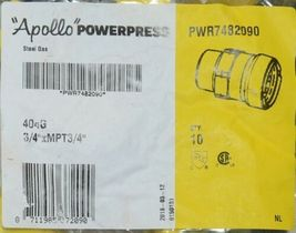 Apollo Powerpress PWR7482090 Carbon Steel Gas 404G Quantity 10 Per Bag image 3