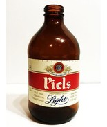 Vintage Piels Light Beer Stubbie Bottle  - 1980's - $12.00
