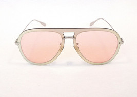 Dior Women's Sunglasses DIOR ULTIME1 XWL Red Gold Coral 145 Aviator ITAL... - $179.50