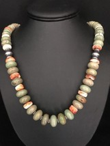 Native American Sterling Silver Turquoise Spiny... - $173.25