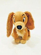 Disney Lady and the Tramp Plush Stuffed Animal Just Play Soft Toy  - $5.45