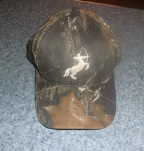 Brand New Camoflauge Horse Archer Baseball Hat Cap For Dog Rescue Charity - $10.24