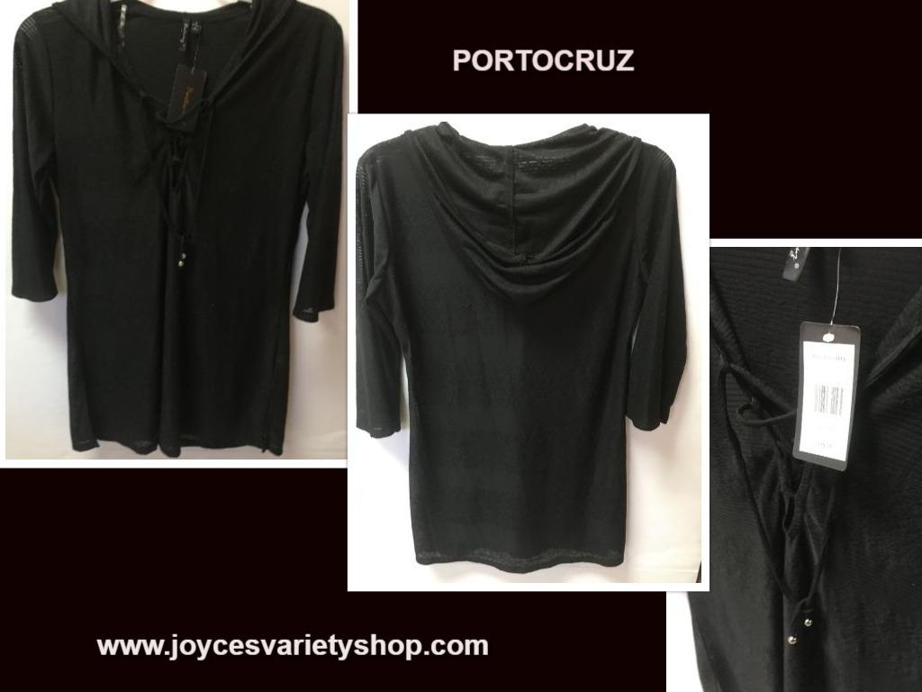 Portocruz black swim cover web collage