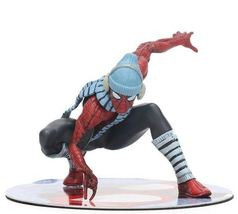 PVC Action Figures Superhero - 12cm (WINTER SPIDERMAN) Marvel Toys BOX - $23.85