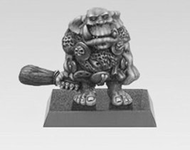 Spellcrow Game Miniatures Young Orc with Club