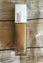 Maybelline Superstay Full Coverage Liquid Foundation #332 GOLDEN CARAMEL - $12.16