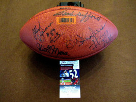 NEW YORK GIANTS WELLINGTON MARA FRANK GIFFORD SIGNED AUTO WILSON FOOTBAL... - $395.99