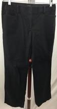 Ann Taylor Loft Size 6 (W32 X L31) Black Original Cut Trousers Dress Pan... - $6.92