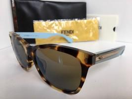 New FENDI FF 0086/S HK53U 56mm Tortoise Women's Sunglasses - $189.99