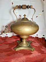 "Antique Brass Samovar  Coffee Tea Urn  14"" Tall     6 1/2Lbs     Unknown Origin"