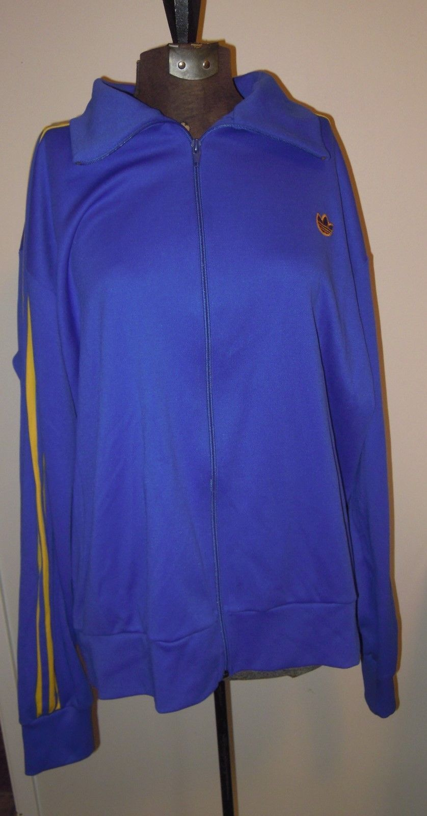 on sale 6cf92 39cf2 Vintage 80s Adidas Blue   Yellow Three and 50 similar items
