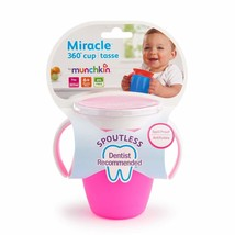 Munchkin Miracle 360 Degree Trainer Sippy Cup Toddler Non Spill Spoutles... - $10.86