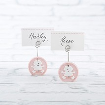 Baby Girl Pink Place Card Holder (4-Sets of 6)  - $43.99