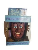 Vintage Fingertronic Calirfornia Raisins Puppet Theater NIP 1988 1980s Deadstock - $34.29