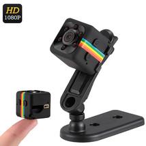 1080p Mini Camera - 120-Degree Lens, Night Vision, CMOS Sensor, 32GB SD ... - $21.47