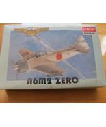 NIB Vintage WWII Series Mitsubishi A6M2 Zero Airplane Scale 1/144 Model ... - $11.38