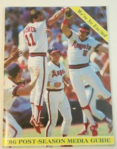 1986 California Angels Post-Season Media Guide EX - $0.99