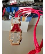 Kappa Alpha Psi Fraternity Wood Tiki Necklace Mirror Tiki Necklace chain - $19.60
