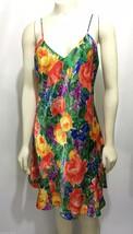 Victoria's Secret M Multi-Color Floral Spaghetti Strap V-Neck Nightie Kn... - $34.99