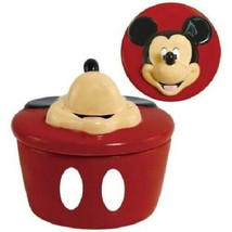 Walt Disney's Mickey Mouse 3-D Face Resin Jewelry Trinket Box NEW SEALED - $21.24