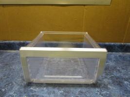 SAMSUNG REFIGERATOR LEFT SIDE VEGTABLE PAN PART#DA97-11439A - $40.00