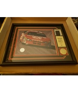 Kasey Kahne car # 9 framed picture and race car tire with certificate - $37.99