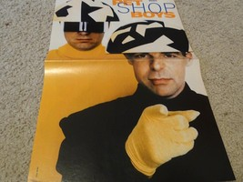 Pet Shop Boys teen magazine poster clipping Bravo Tiger Beat Bop Teen Beat