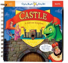 Castle: A Fold out Kingdom (Chicken Socks) Editors of Chicken Socks and ... - $49.99