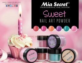 Mia Secret Nail Art Acrylic Professional Powder 6 Colors Set - SWEET - $18.31